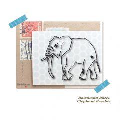 DL Freebie Elefant