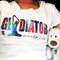 DL Gladiator in sweatpants