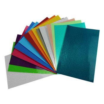 Vinyl Glitter transluzent